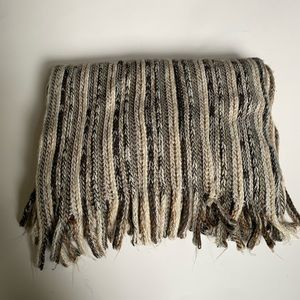 Sonoma Brown and Tan Knit Scarf